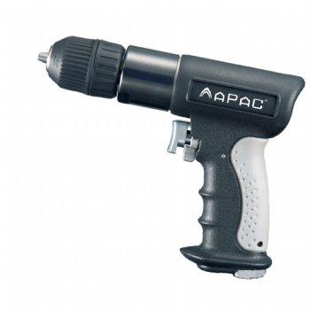 "3/8"" Composite Reversible Air Drill (Keyless Chuck)"